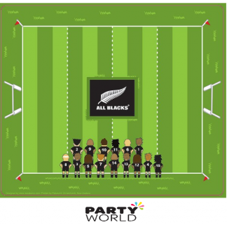 All Blacks Rugby Paper Place Mats (10)