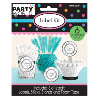 Food Label Kit - Silver (6)