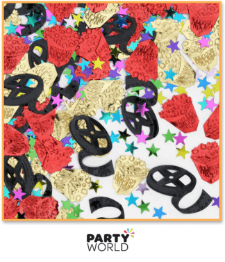 movie themed confetti