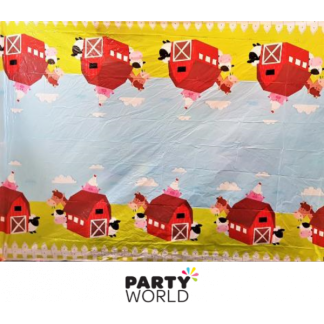 Farm Animal Table Cover