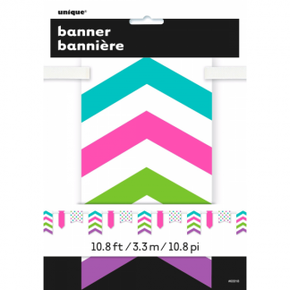 Pastel Paper Bunting Banner
