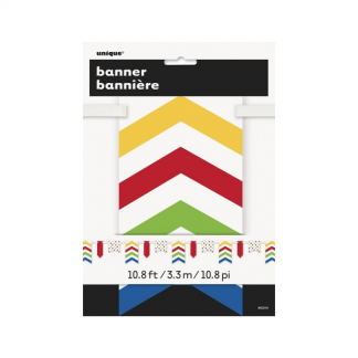 Multicolour Paper Bunting Banner