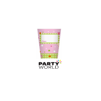 Pink Fairy Paper Cups (10)