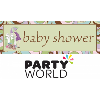 Baby Shower Giant Party Banner