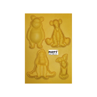 Winnie the Pooh & Friends Silicone Mould