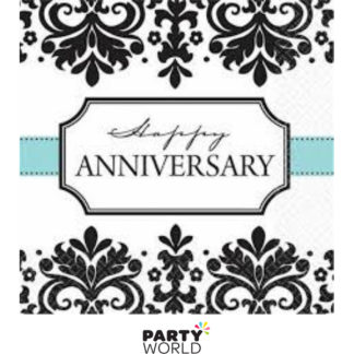Happy Anniversary Beverage Napkins (16)