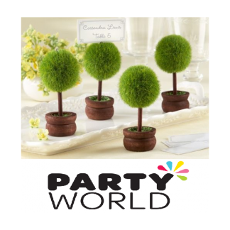 Mini Topiary Table Card Holder
