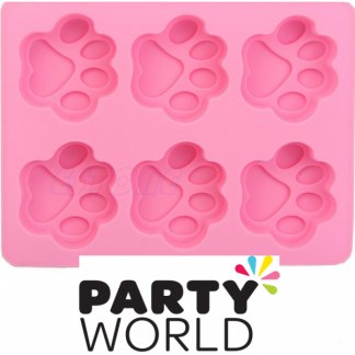 Paw Print Silicone Mould