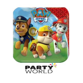 Paw Patrol Lunch Plates 7in (8)