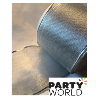 Silver Lame Ribbon