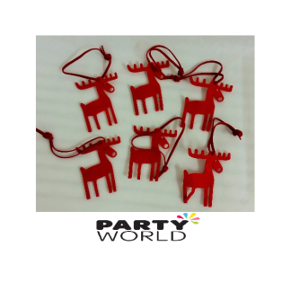 Reindeer Felt Christmas Decorations (60)