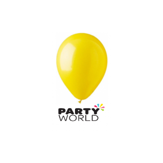 Decorator Yellow 30cm Balloons (100)