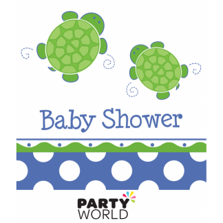 Mr. Turtle Baby Shower Luncheon Napkins (16)