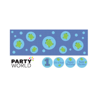 Mr. Turtle Giant Party Banner