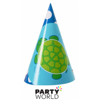 Mr. Turtle Party Hats (8)