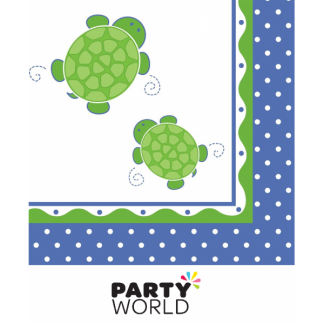 Mr. Turtle Luncheon Napkins (16)