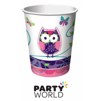 Owl Pal Paper Cups (8)