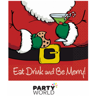 Eat, Drink and Be Merry Napkins (16)