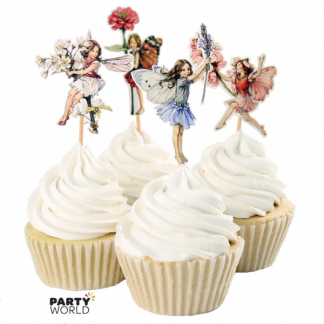 Fairy Cupcake Pick Toppers (24pk)