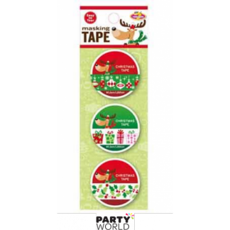 Christmas Tape Assorted (3 rolls)
