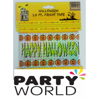 Happy Halloween Fright Tape (6m)