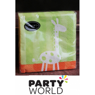Hullabaloo Jungle Beverage Napkins (20)