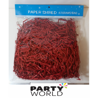 Red Paper Shred (42g)