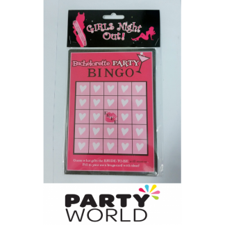 Girls Night Out Bachelorette Party Bingo