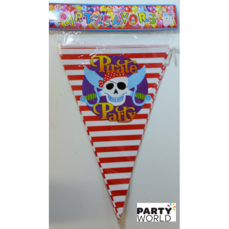 Pirate Party Banner Flags (2.2m)
