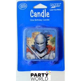 Knight Birthday Candle