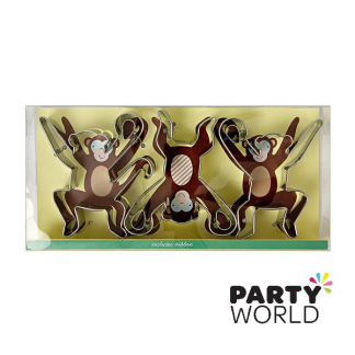 Monkey Cookie Cutters (3)