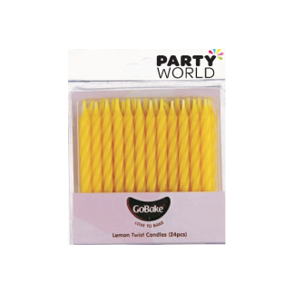 Yellow Candles (24pk)