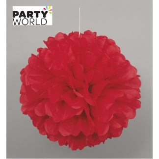 14in Puff Ball - Red