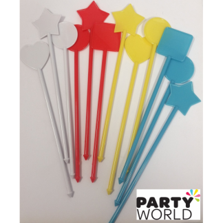Cocktail Stirrers Assorted (12)