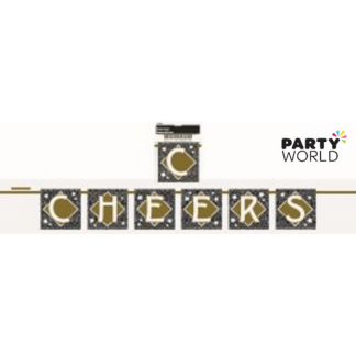 Cheers Paper Banner (1.2m)