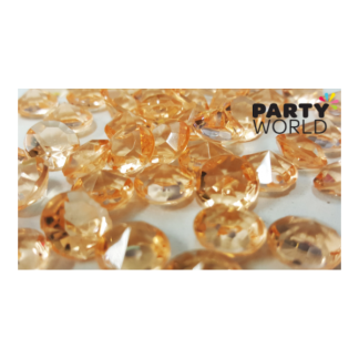 Peach Diamond Table Scatters - 1cm (50)