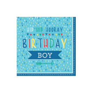 Birthday Boy Luncheon Napkins (20pk)