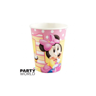 Minnie's 1st Birthday Cups (8pk)