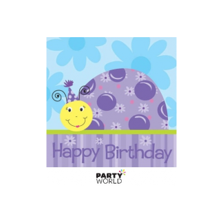 Lil Lady Bug Birthday Luncheon Napkins (18pk)
