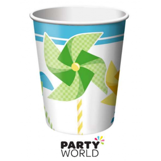 Pin Wheel Paper Cups (8pk)