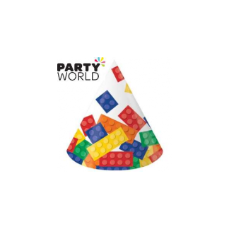 Lego Block Party Hats (8pk)