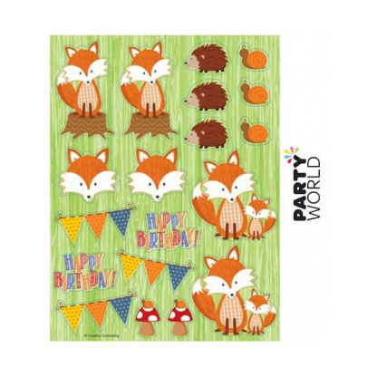 Forest Fox Stickers (4 sheets)