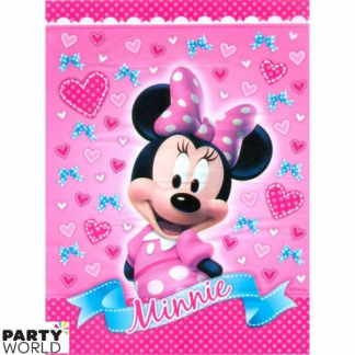 Minnie Mouse Pink Loot Bags (8pk)