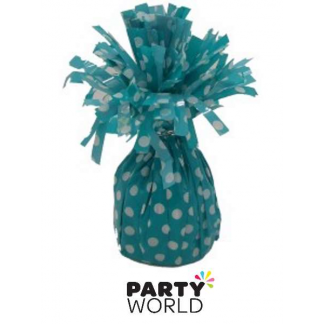 Dots Balloon Weight - Caribbean Teal