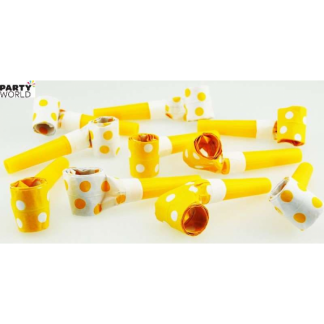 Polka Dot Blowouts - Yellow (10pk)