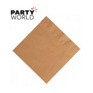 Cafe Brown Luncheon Napkins (20pk) duni