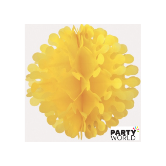 12in Flutter Ball - Sunflower Yellow