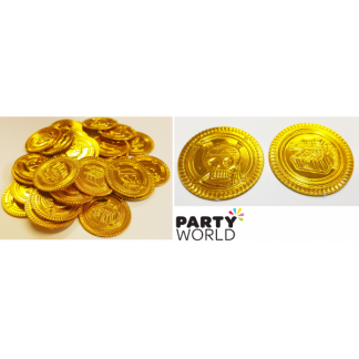 Gold Pirate Coins (30)