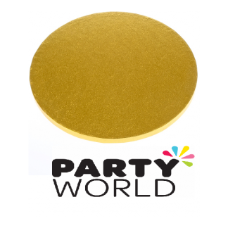 Round Gold Cake Board 15cm x 4mm
