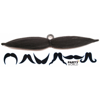 Adjustable 6-way Mustache